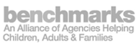 CastleBranch Partnerships-Benchmarks–An alliance of agencies helping children, adults & families logo