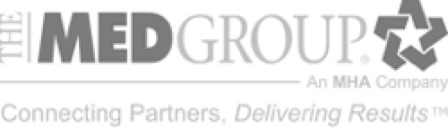 CastleBranch Partnerships-The Med Group–An MHA company logo