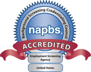 NAPBS Accredited badge-CastleBranch