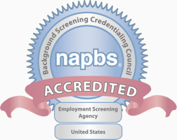 NAPBS Accreditation Badge CastleBranch