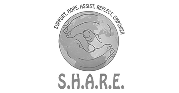 Support. Hope. Assist. Reflect. Empower. Logo
