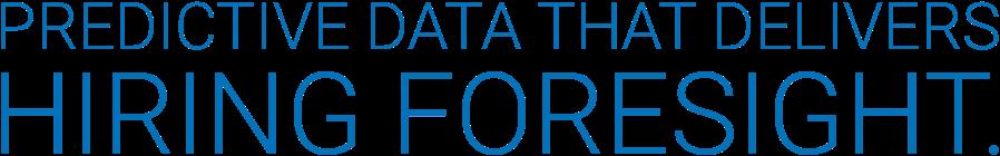 CB Bridges™ Predictive Data that delivers hiring foresight.
