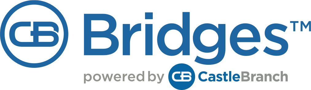 CB Bridges™ Powered by CastleBranch logo