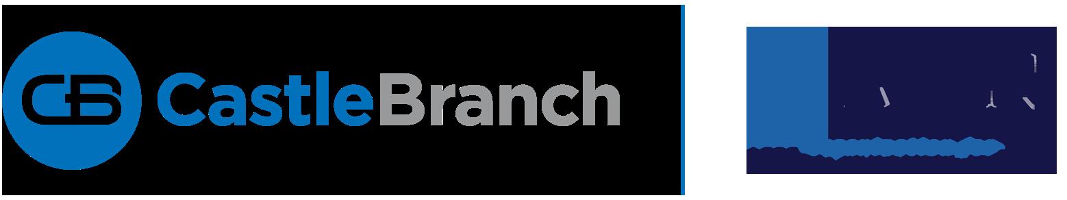 CastleBranch | OADN logo combination